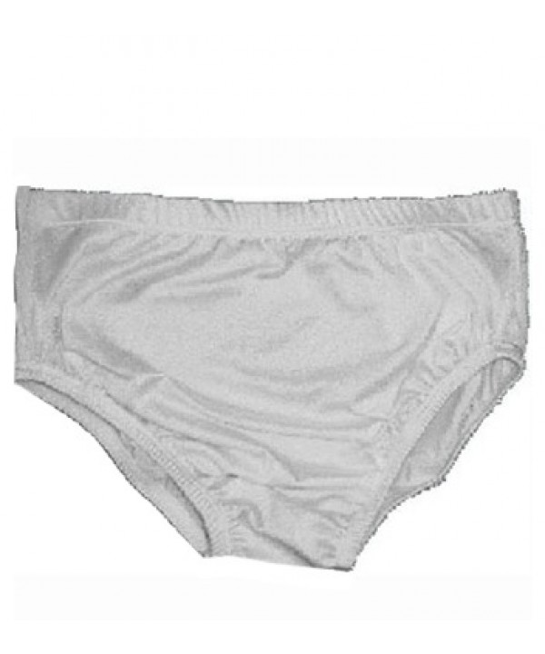 Cheerleader Brief  Waist High white,