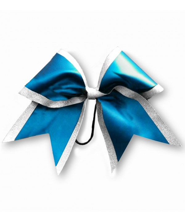 Cheer Hair Ribbon White Sky Blue