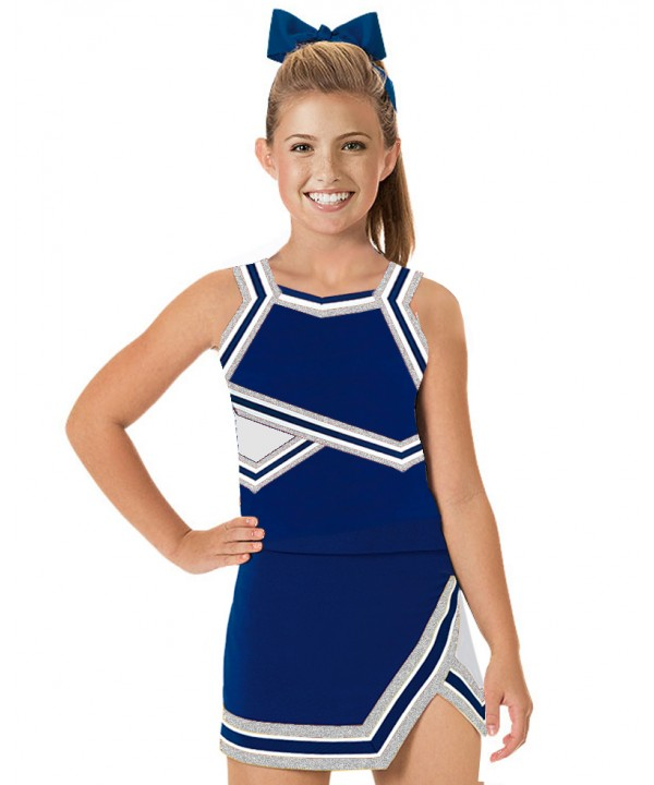 Cheerleader Uniform 90103w navy,  white,