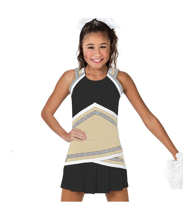 Cheerleader Uniform 90151  Beige,black,