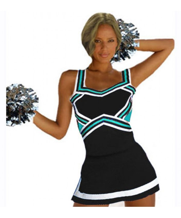Cheerleader Uniform 9047 black,