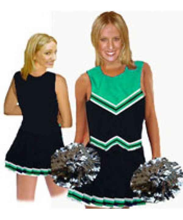 Cheerleader Uniform 9055 black,