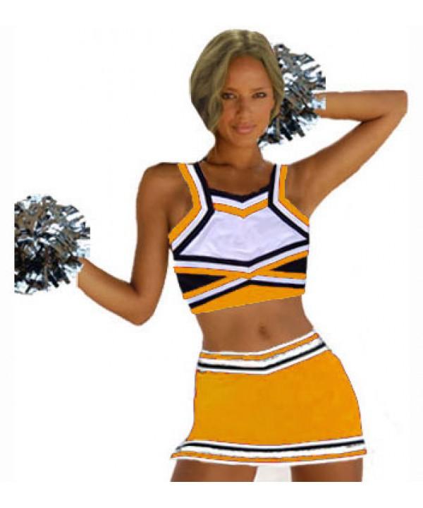 Cheerleading All Star Kostüm 9as09b Royal  Weiß