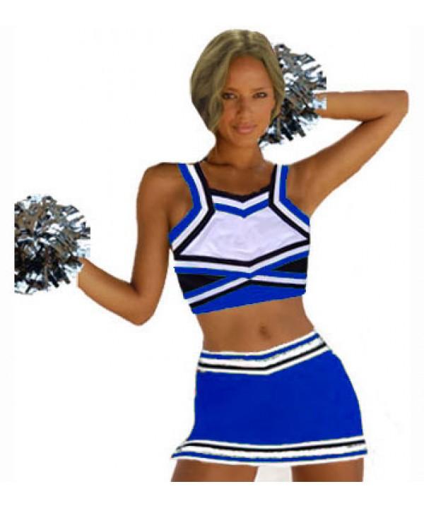 Cheerleading All Star Kostüm 9as09sqb Gold  Weiß