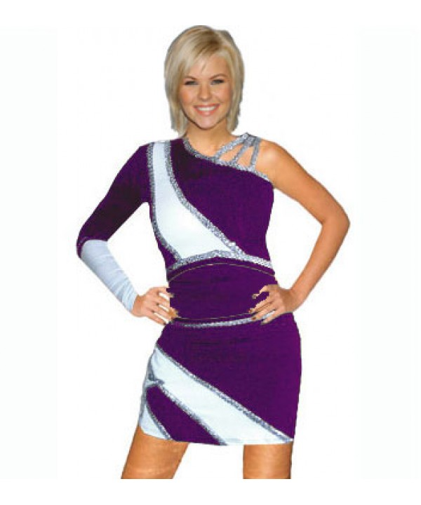 Cheerleader All Star Uniform 9as03w purple,  white...