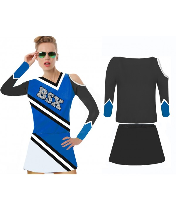 Cheerleading Kostüm BSX Royal  Schwarz