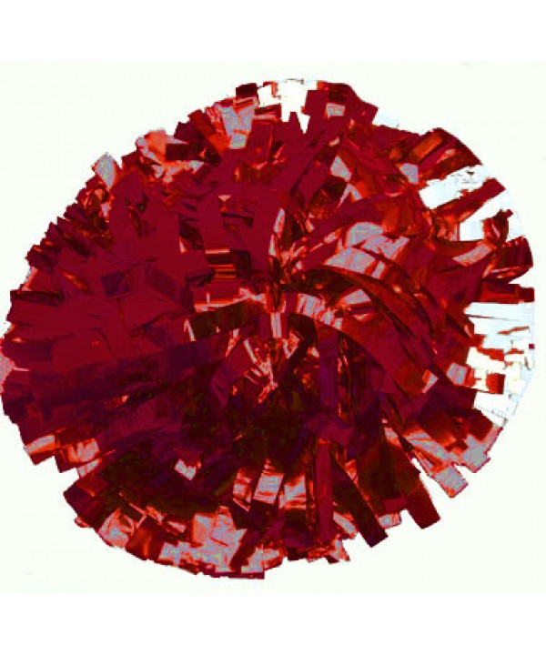 Pompom Metallic. 6in Maroon