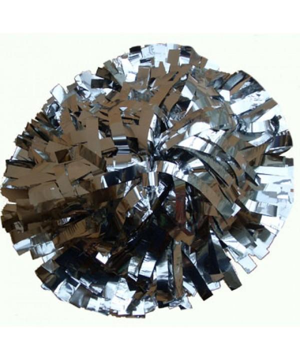 Pompom Metallic. Silber