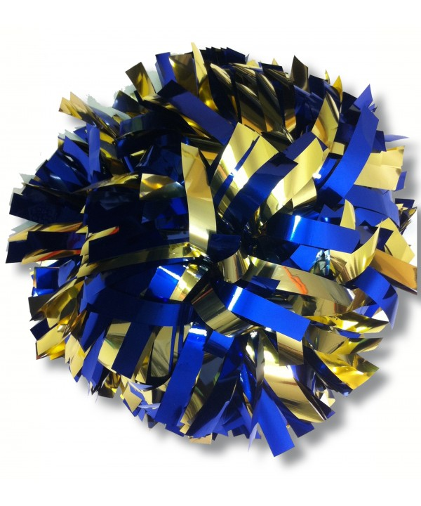 Pompom Metallic. 6in Royal Gold