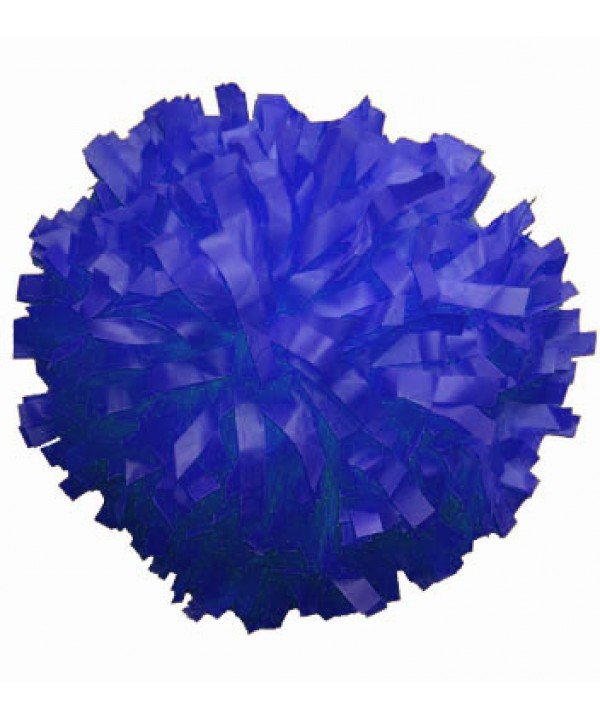 Pompom Plastic. in Royal,,