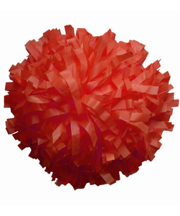 Pompom Plastic. Red