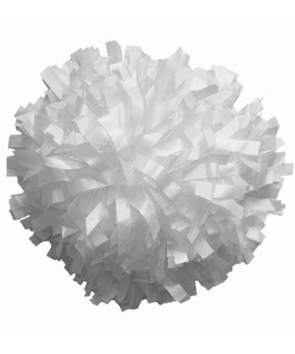 Pompom Plastic- White