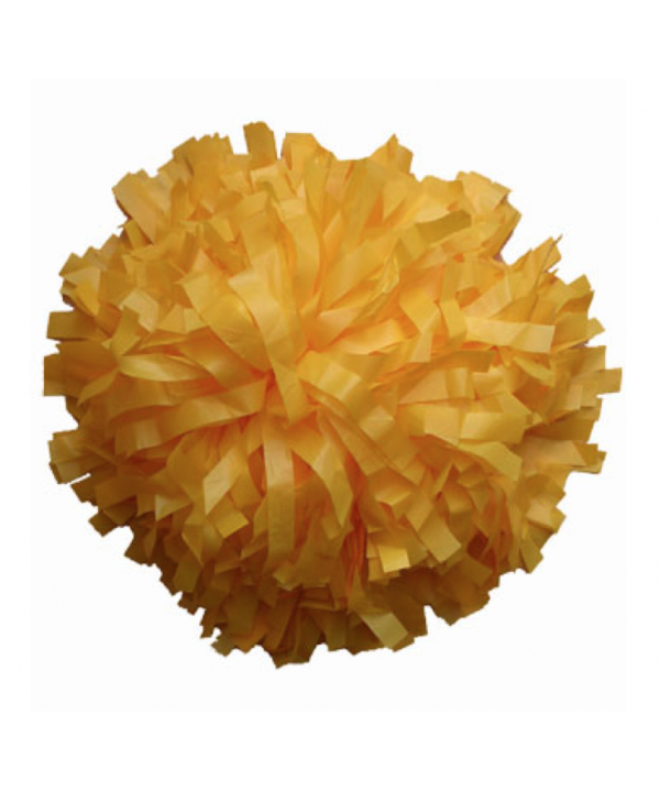 Pompom Plastic- yellow