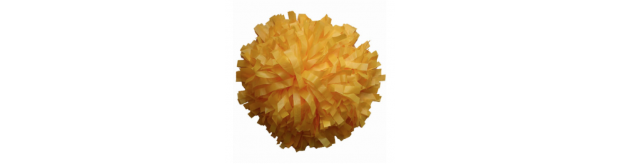 Plastic Poms 1 colour